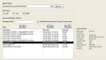 fit file repair tool - Edit a Swim File